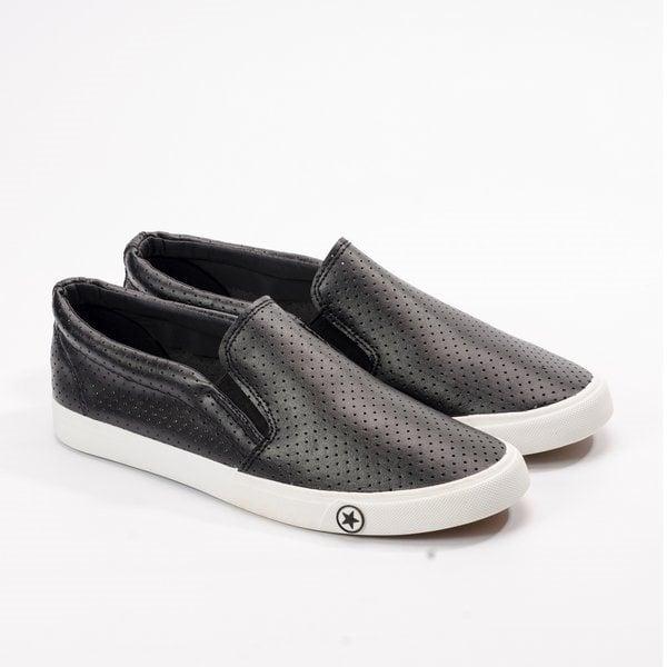 Giày Slipon nam MWC NASL- 6016 - ĐEN