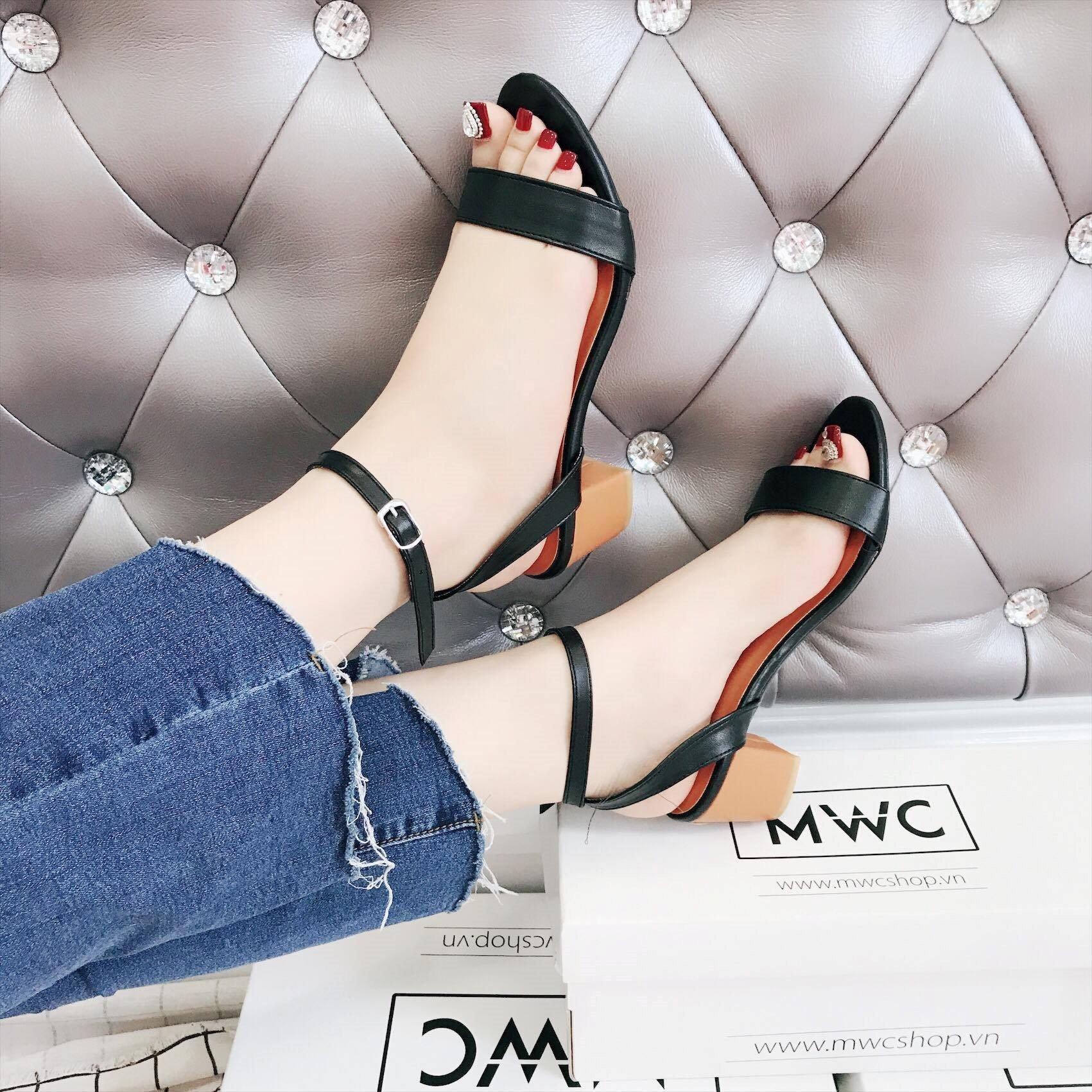 Giày cao gót MWC NUCG- 3557 - ĐEN