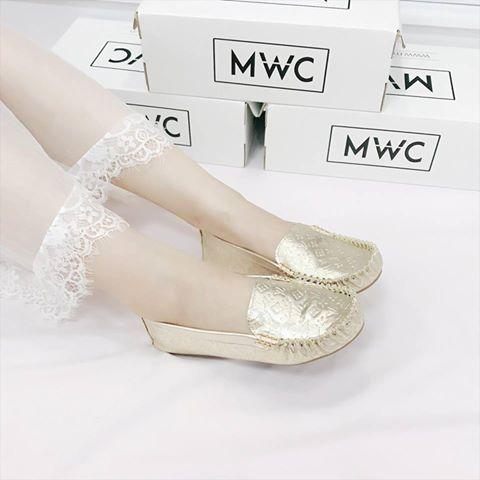 Giày búp bê MWC NUBB- 2078 - VÀNG
