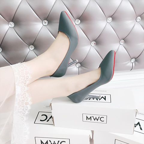 Giày cao gót MWC NUCG- 3576 - XÁM