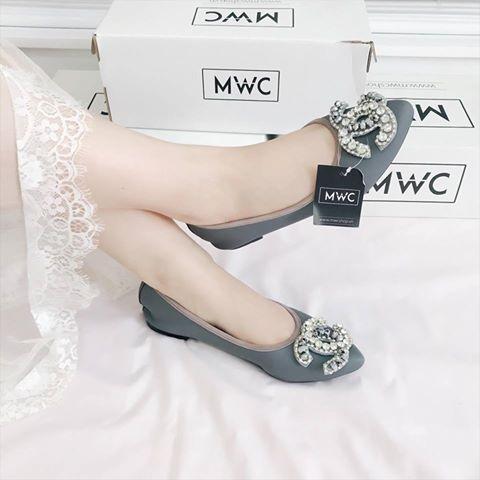Giày búp bê MWC NUBB- 2070 - XÁM
