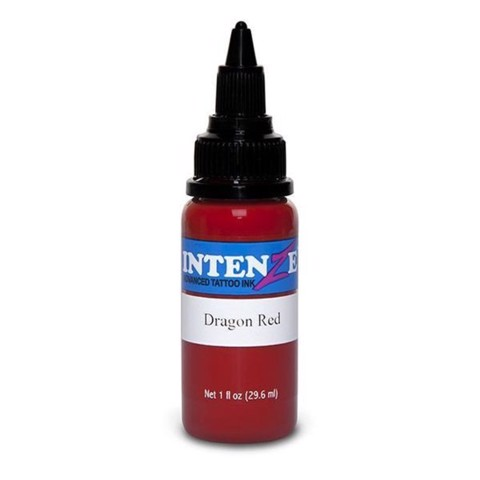 INTENZE INK - DRAGON RED