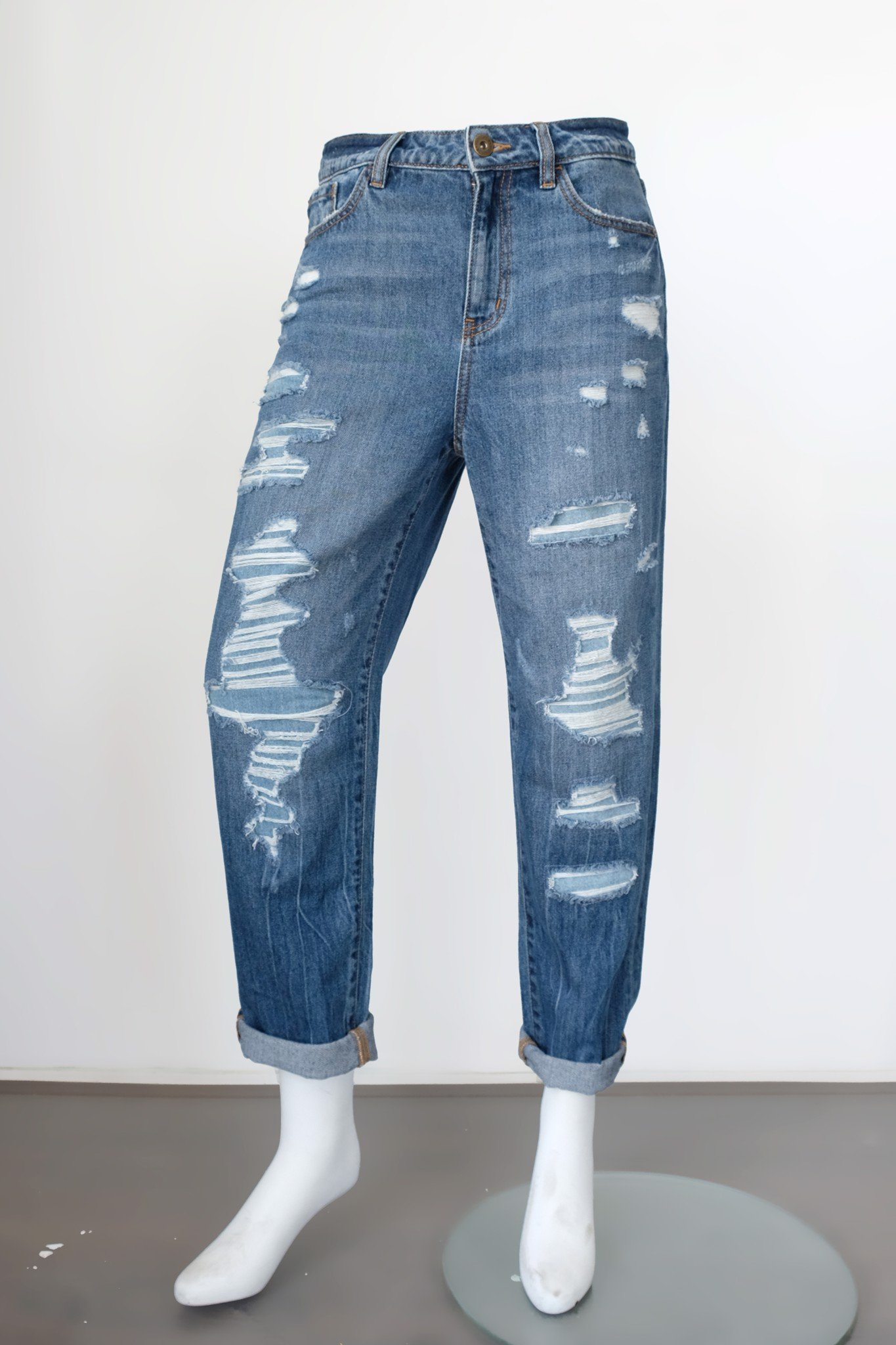 Quần jeans nữ dáng straight - 219WD1083A1950