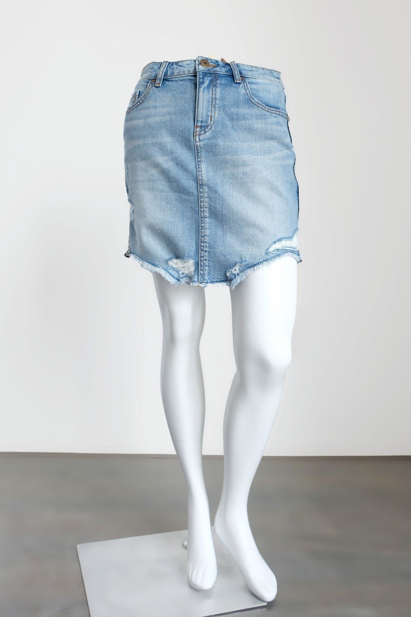 Váy jeans dáng ôm - 219WD1114F1910