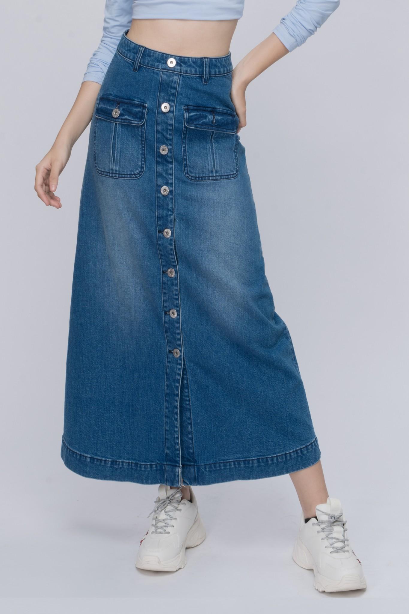Chân váy dài dáng rộng- 319WD1115F2950