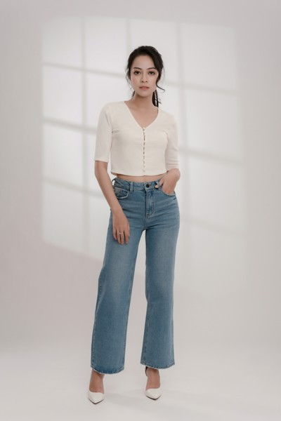 Quần Jeans Công Sở Nữ White Ant Full Size - 240703001.300