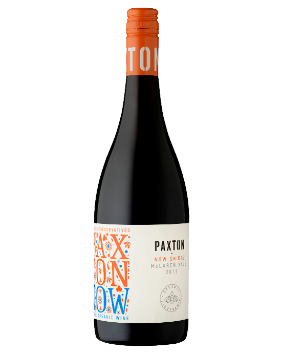 Paxton Organic NOW Preservative-Free Shiraz 2019
