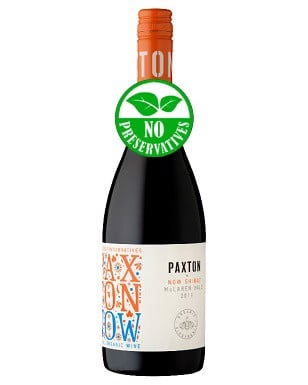 Paxton Organic NOW Preservative-Free Shiraz 2019/2017