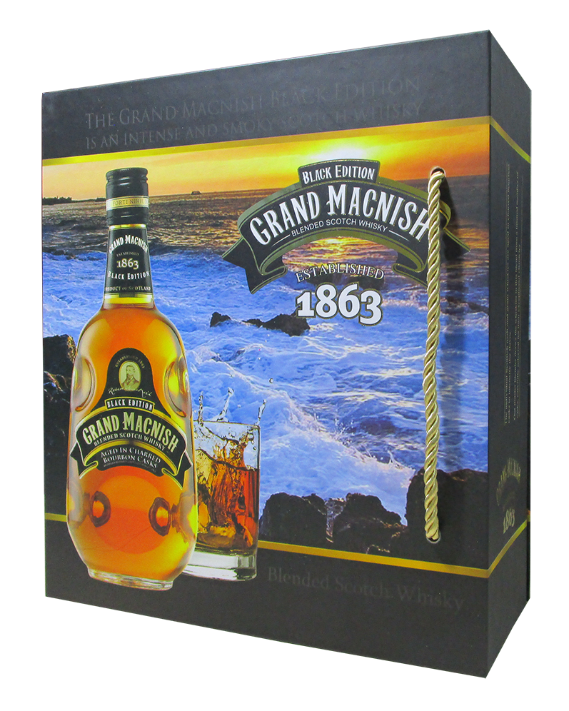 Whisky Scotland Grand Macnish Vị Khói 700ml 40%