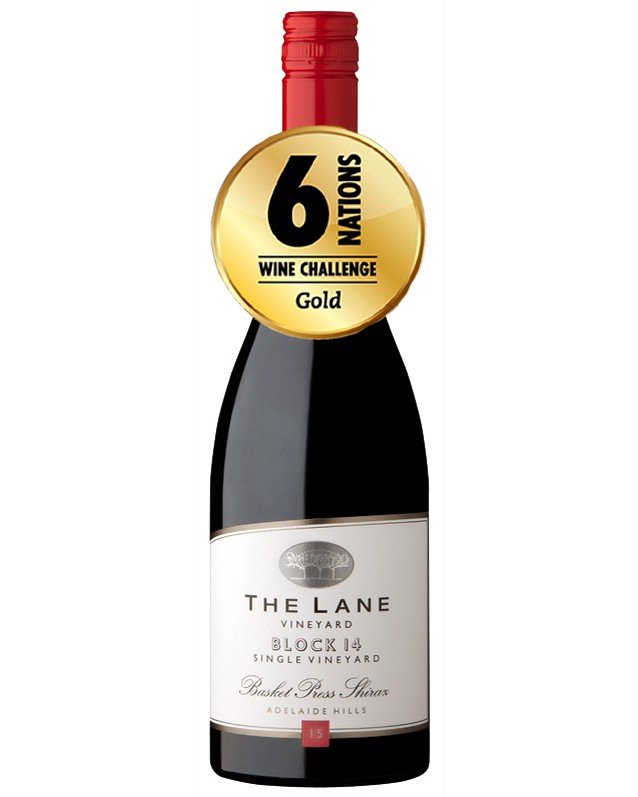 Vang Úc The Lane Vineyard Block 14 Basket Press Shiraz 2015