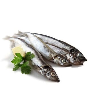 Norwegian Frozen Capelin 200g Tray