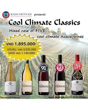 Mixed Case of 5 Cool Climate Wines