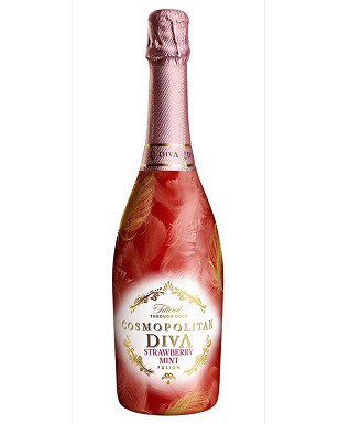 Cosmopolitan Diva Strawberry Mint Fusion