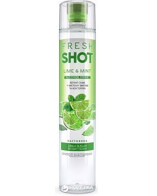 Fresh Shot Lime & Mint Ukrainian Spirits 500ml 28%