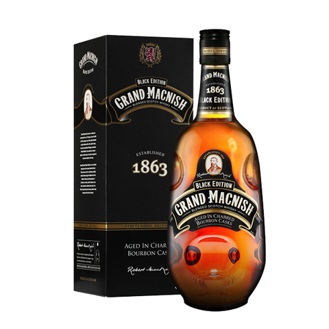 Grand Macnish Black Edition Scotch Whisky 700ml 40%