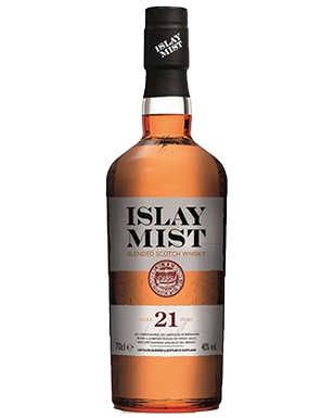Islay Mist 21 Year Old Blended Scotch Whisky 700ml 40%