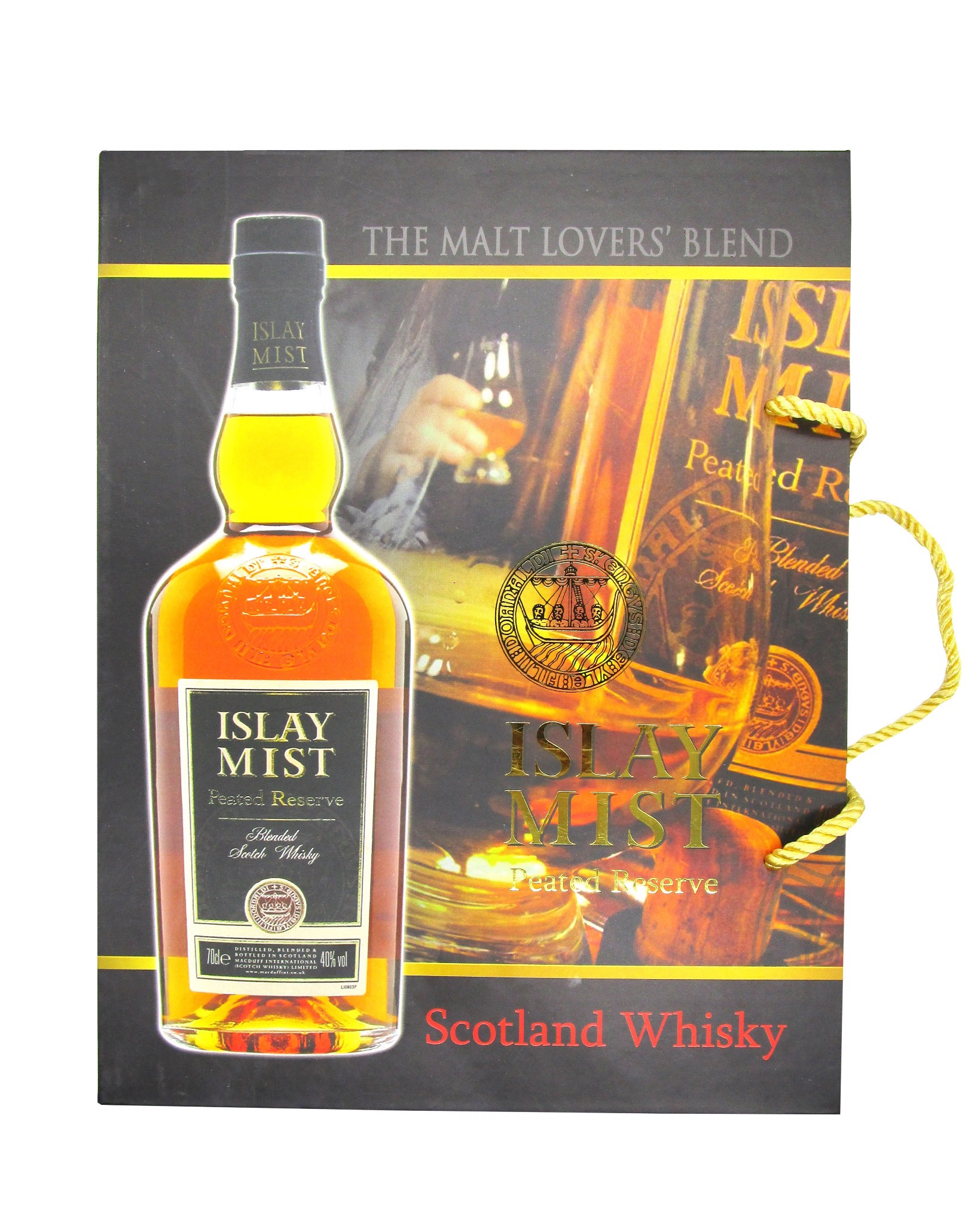 Whisky Scotland Islay Mist Vị Khói 700ml 40%