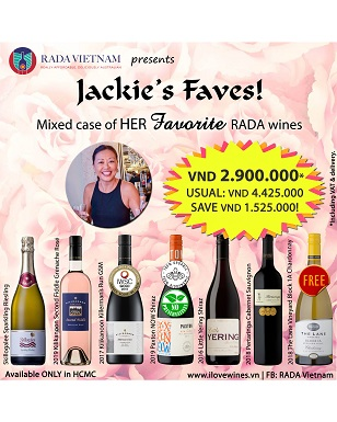 Mixed Case of 7 Jackie's Favorite Wines (HCMC)