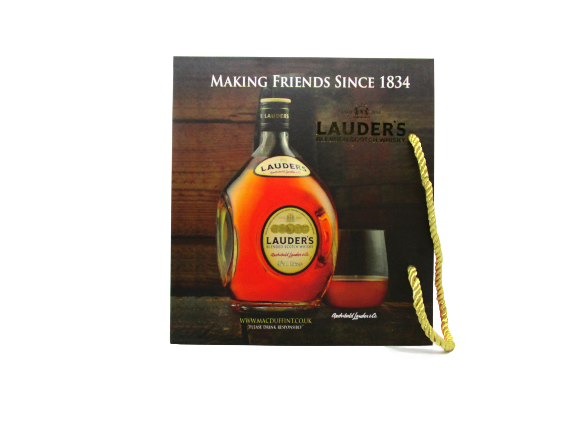 Lauder's Blended Scotch Whisky 700ml 40%