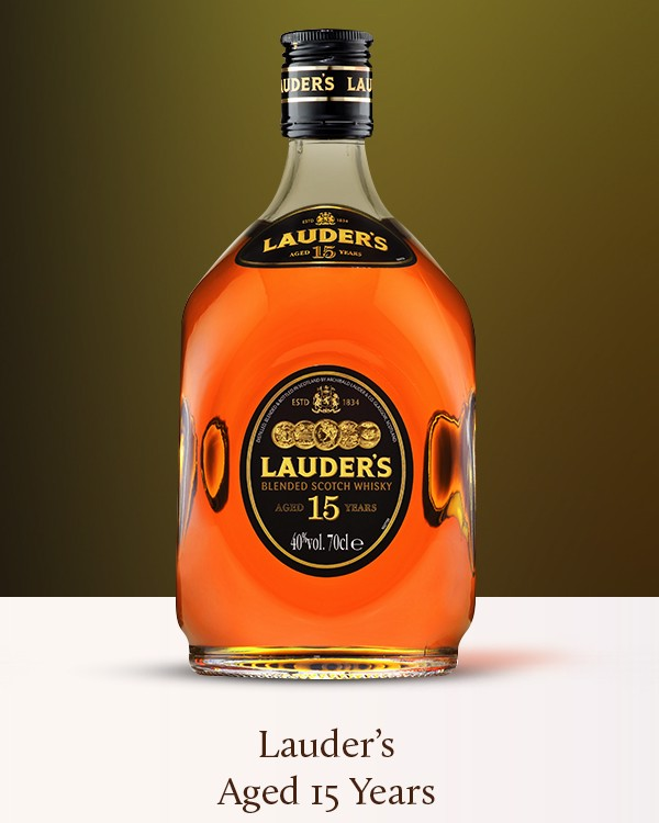 Lauder's Aged 15 Years Scotch Whisky 700ml 40%