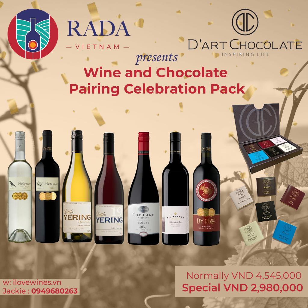 Wine & Chocolate Pairing Celebration Pack