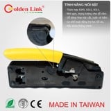 Kìm bấm mạng GOLDENLINK Made in Taiwan