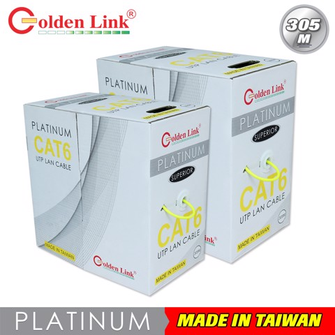GOLDENLINK UTP CAT6 PLATINUM