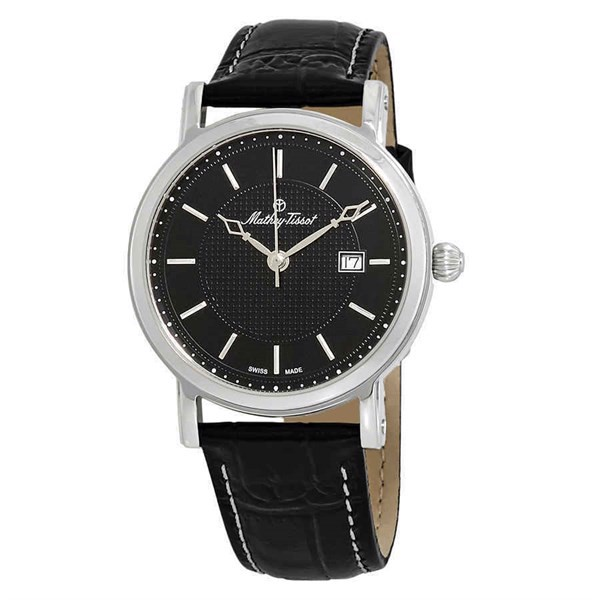 Đồng Hồ Nam MATHEY-TISSOT City Black Dial Item No. H611251AN