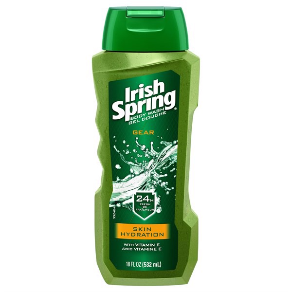 Sữa Tắm Irish Spring Gear Skin Hydration, 532ml