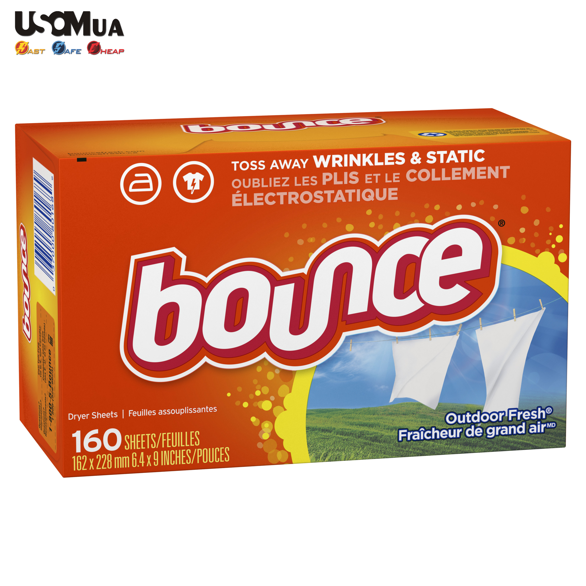 Giấy Thơm Bounce, Outdoor Fresh