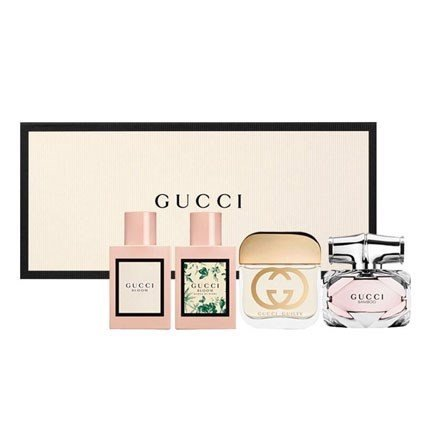 Set Nước Hoa Gucci Bloom, Bloom Acqua Di Fiori, Guilty, Bamboo, 4 x 5ml