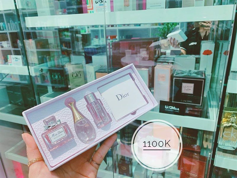 Set Nước Hoa Christian Dior Miss Dior, J'adore And Joy Dior, 3 x 5ml (Set)