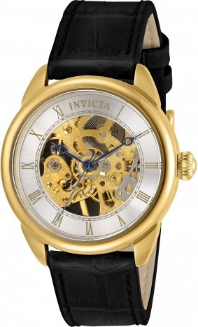 Đồng Hồ Nữ INVICTA Specialty Mechanical Silver Skeletonized Dial Ladies Watch Item No.31151