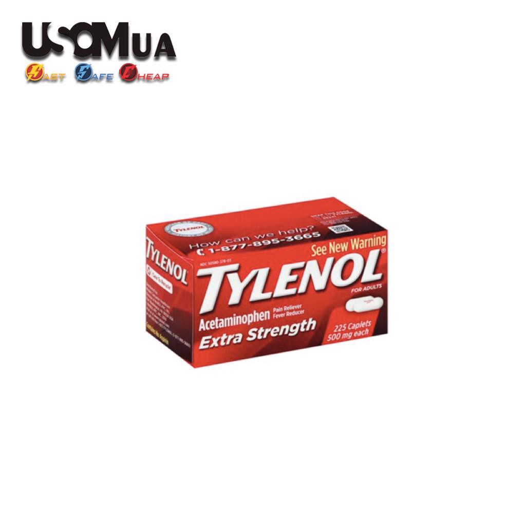 TPCN Tylenol Acetaminophen Extra Strength 500mg For Adults