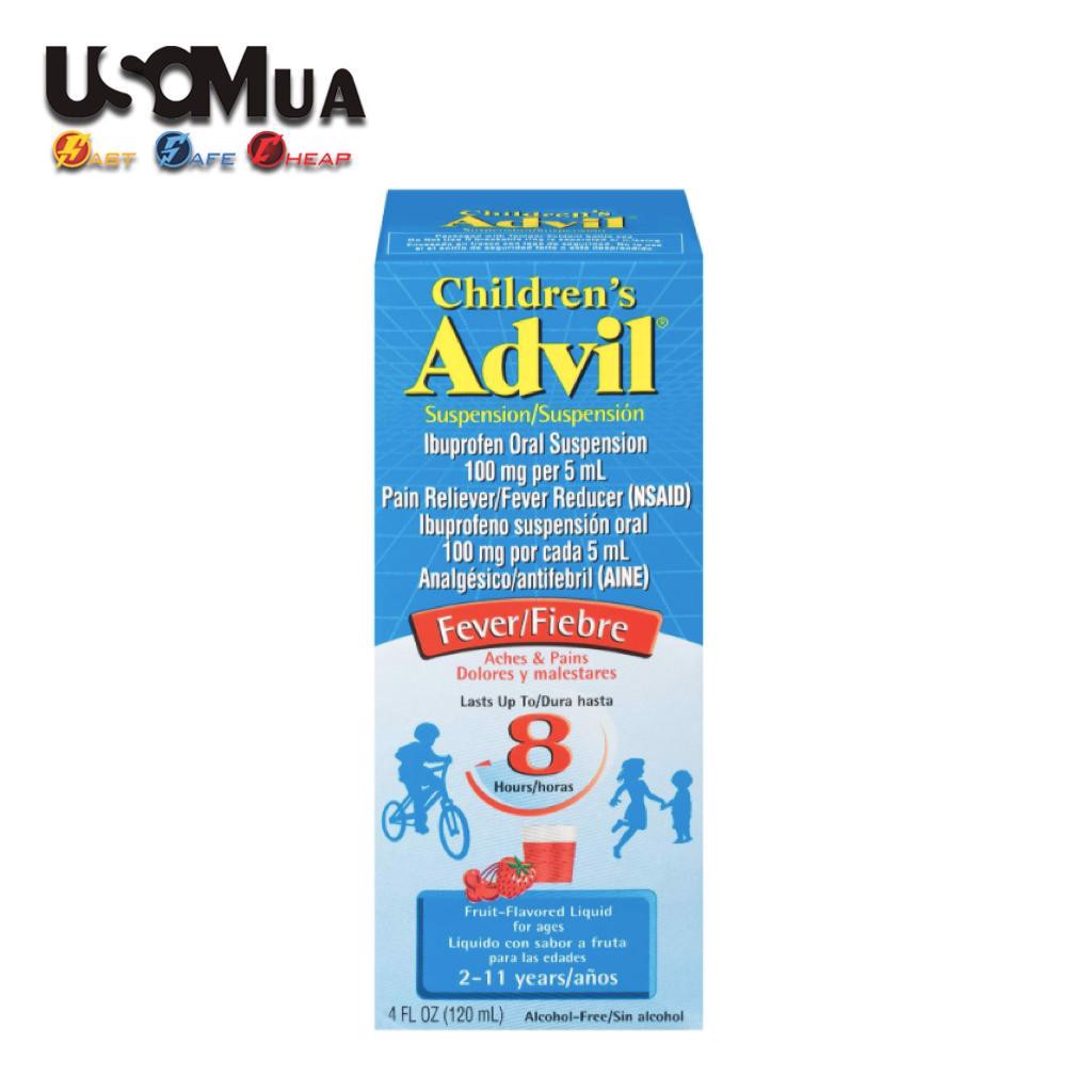 TPCN Children's Advil Suspension, Fruit-Flavored Liquid For Ages 2-11 years, 120ml
