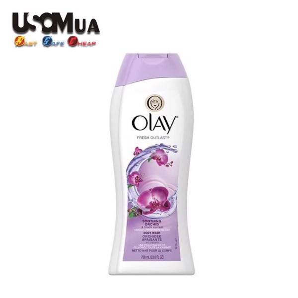 Sữa Tắm Olay Orchid & Black Currant , 700ml