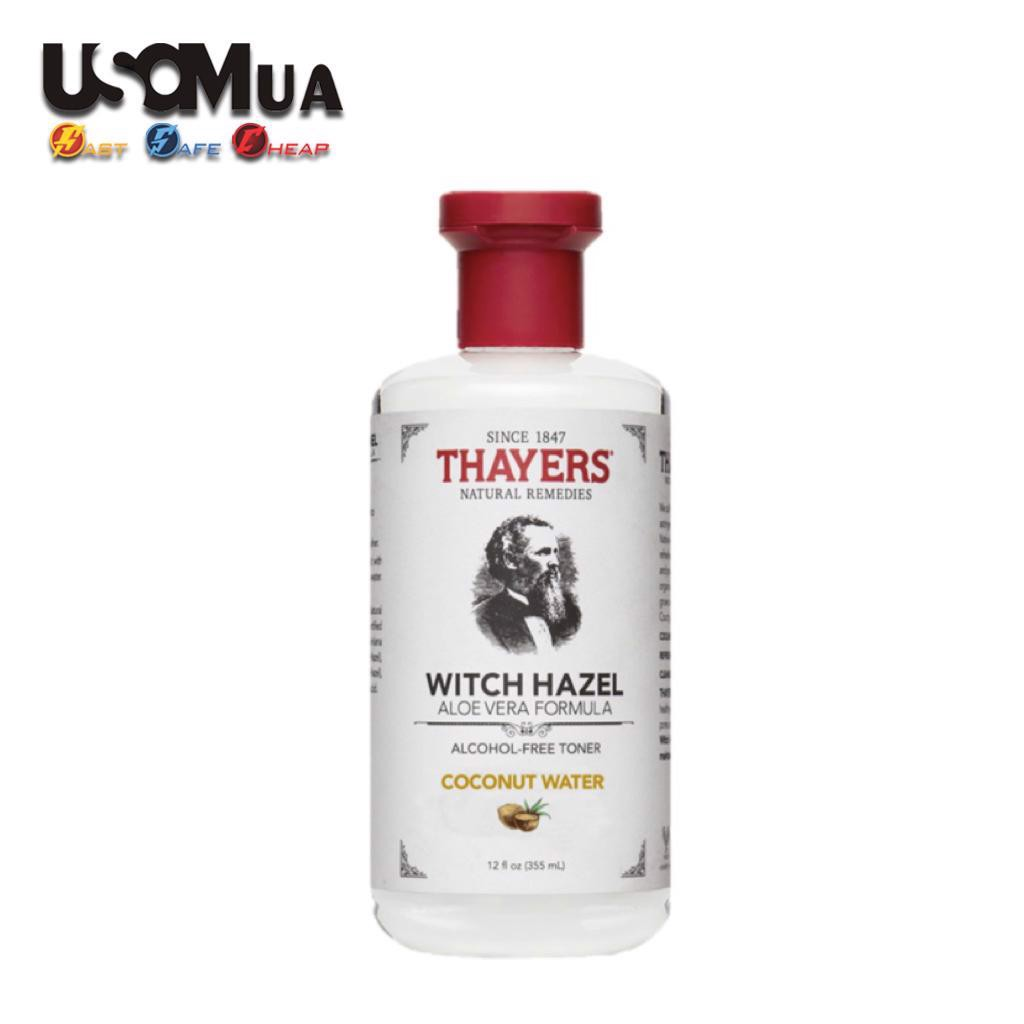 Toner Thayer Witch Hazel Aloe Vera Formula Alcohol-Free, 355ml