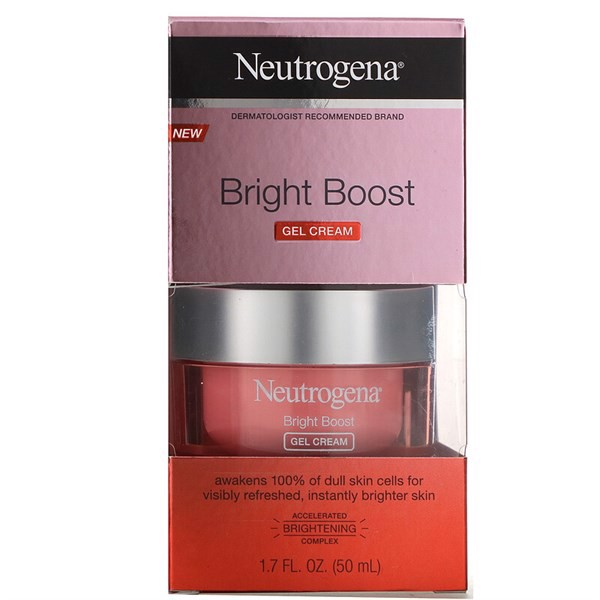 Kem Dưỡng Da Neutrogena Bright Boost Gel, 50ml