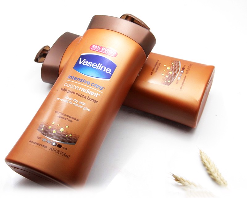 Sữa Dưỡng Thể Vaseline Total Moisture Cocoa Glow, 725ml