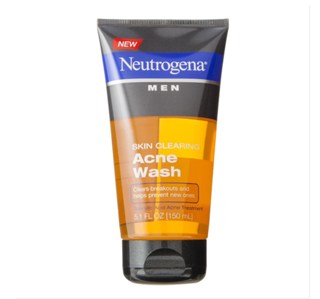 Sữa Rửa Mặt Neutrogena Men Skin Clearing Acne Wash, 150ml