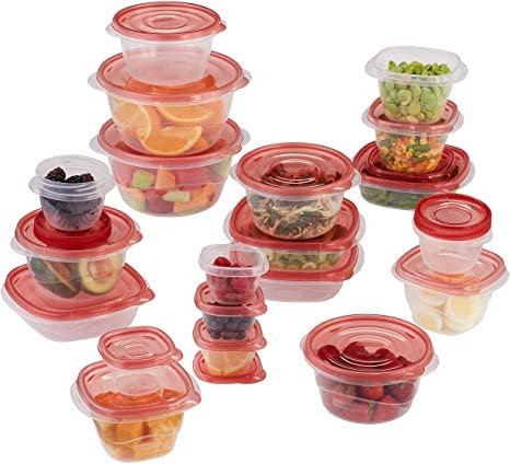 Set 20 Hộp RUBBERMAID Take Alongs Đựng Thực Phẩm