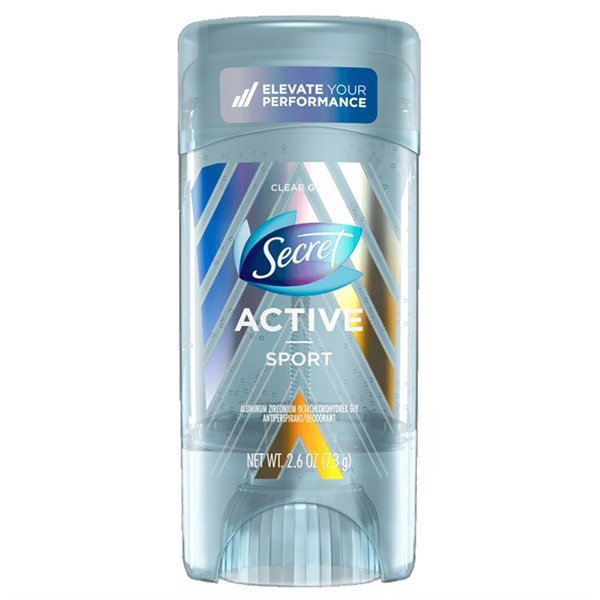Lăn Khử Mùi Secret Clear Gel Active Sport, 73g