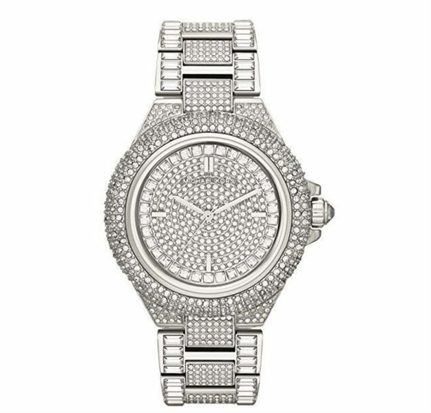 Đồng Hồ Nữ Michael Kors Camile Crystal Pave Dial Crystal Encrusted MK5869, 43mm