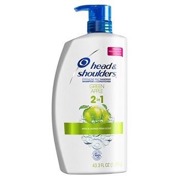 Dầu Gội Head & Shoulders Green Apple 2in1, 1.28 Lít