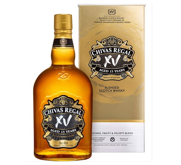 Rượu Chivas Regal Blended Scotch Whisky Aged 15 Years, 1000ml
