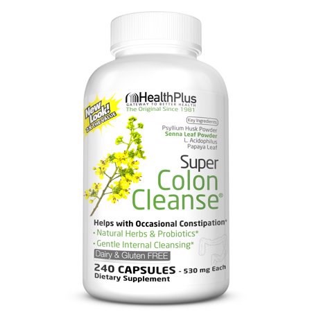 TPCN Health Plus Super Colon Cleanse, 240 Capsules