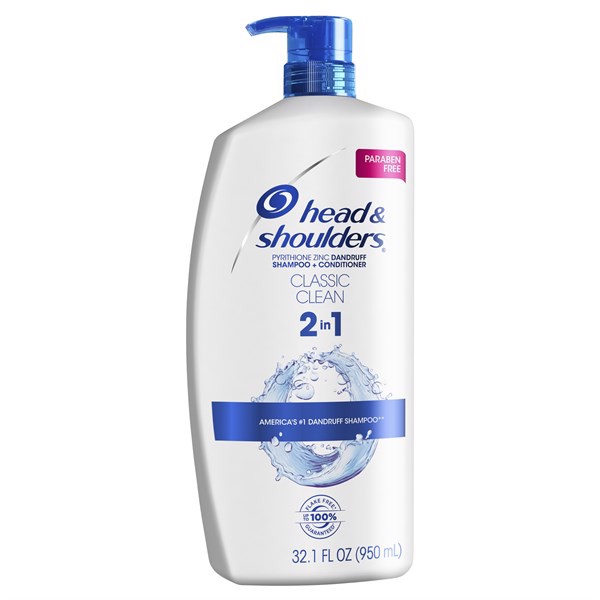 Dầu Gội Xả Head & Shoulders Classic Clean 2in1, 950ml
