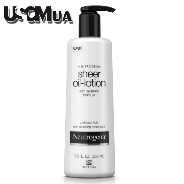 Lotion Neutrogena Sheer Oil Light Sesame Formula