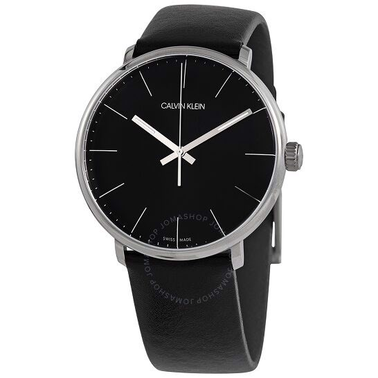 Đồng Hồ Calvin Klein High Noon Quartz Black Dial K8M211C1, 40mm