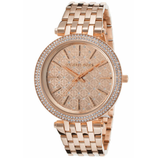 Đồng Hồ Nữ Michael Kors Darcy Rose Dial Rose Gold-Tone MK3399, 39mm